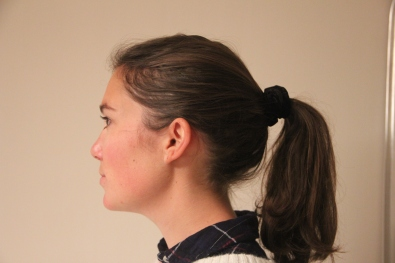 Scrunchie - Side Profile